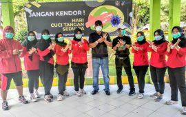 Dinkes Enrekang Gelorakan Kampanye Hari Cuci Tangan Pakai Sabun Se Dunia 2020