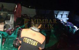 BC Kepri Gagalkan Penyelundup Mikol di Perairan Pulau Nyamuk