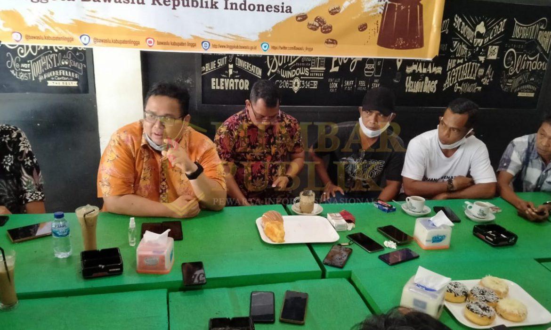 Ngopi Bareng Bersama Awak Media, Anggota Bawaslu Indonesia Bicara Tentang Netralitas ASN