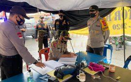 Polresta Barelang Perketat Keamanan di Kantor Bawaslu Jelang Pemilu