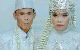 Jomblo Jangan Iri, Kakek 71 Tahun Nikahi Perawan Ting-Ting 18 Tahun