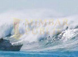 Ilustrasi BMKG Keluarkan Peringatan dini Tinggi Gelombang Laut Natuna Capai 2.5 - 4 meter, Senin (9/11/2020)