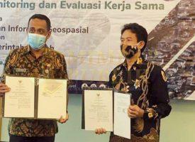 Pemkab Natuna - Badan Informasi Geospasial Teken Kerja Sama Bidang Data dan Informasi di Hotel Aston Priority Simatupang, Jalan Letjend TB Simatupang, Pasar Minggu, Jakarta Selatan.