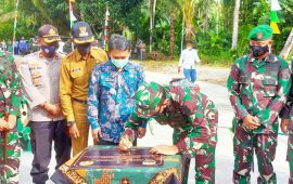 Baksos TNI AD, Brigjen TNI Harnoto Resmikan 3 Unit RTLH untuk Masyarakat Tidak Mampu
