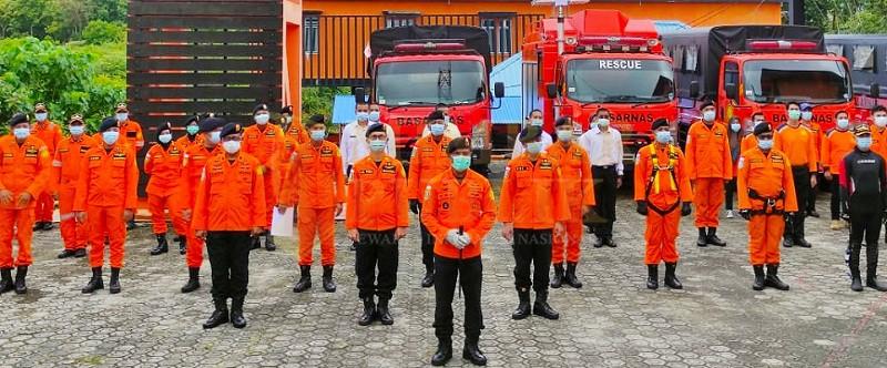 SAR  Gelar Apel Pasukan Operasi Siaga Sambut Natal dan Tahun Baru 2021