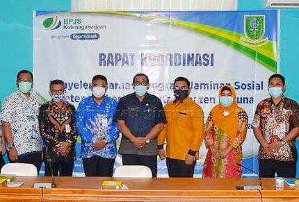 BPJS Ketenagakerjaan Gandeng Pemkab Natuna Tingkatkan Jaminan Sosial Bagi Tenaga Kerja