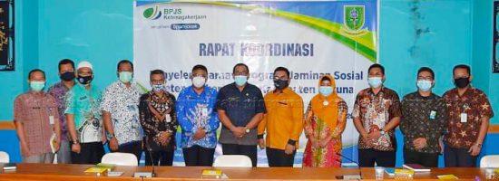 BPJS Ketenagakerjaan gandeng Pemkab Natuna tingkatkan Jaminan Sosial bagi Tenaga Kerja di Natuna