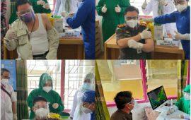 Program Vaksinasi COVID-19 Pelalawan Dimulai, Masyarakat Tidak Perlu Takut,Ini 10 Pejabat yang Ikut