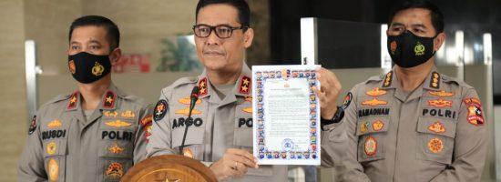 Kapolri terbitkan maklumat larangan kegiatan dan atribut FPI