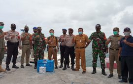 Vaksin Covid-19 bagi Nakes dan Lansia Kepulauan Seribu Mulai Disalurkan