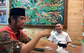 Bertemu Tokoh Masyarakat Riau Rusli Ahmad, Ketua KNPI Fuad Santoso Langsung Tancap Gas