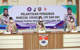 Ketua Kwarda Pramuka Chusnunia Chalim Minta Kader Pramuka Mesuji Ikut Berperan Tingkatkan Indeks Pembangunan Manusia