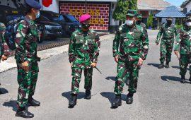 Ini Tujuan Wakil Kepala Staf Angkatan Laut Kunjungi Markas Sarang Petarung Yonmarhanlan VI Makassar