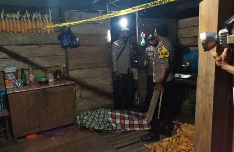 Tempat Kejadian Perkara Pembunuhan Lappa Helalang Desa Batu Putih Kecamatan Mallawa Kabupaten Maros ( Foto : Nur Fajriansyah )