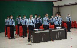 LPKA Kelas ll Maros Ikuti Pelaksanaan Desk Evaluasi WBK di Kantor Wilayah Sulawesi Selatan