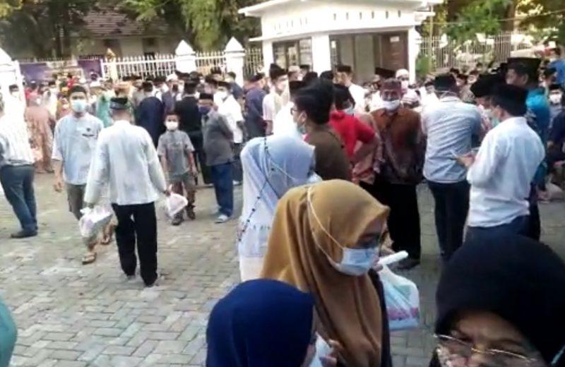 Rumah Jabatan Bupati Maros Menjelang Buka Puasa Bersama ( Foto : Nur Fajriansyah )