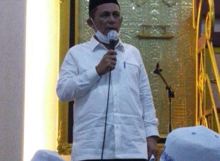 Gubernur Ingatkan Soal Pentingnya Vaksinasi Covid-19 di Safari Ramadhan Dabo Singkep