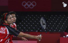 Greysia/Apriyani Lolos ke Final Olimpiade Tokyo Usai Kalahkan Pasangan Korsel