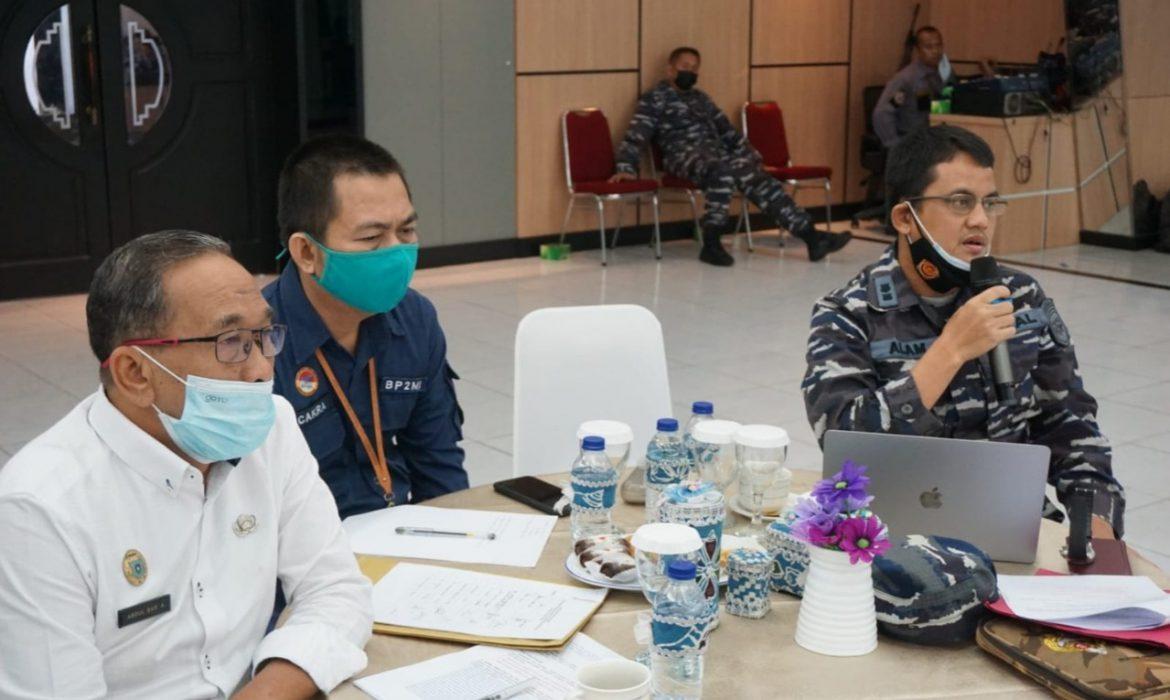 Wadanlantamal IV Tanjungpinang Terima Kunker Tim Setjen Wantanas RI