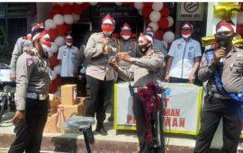 Warga Taat Pajak Dapat Doorprize dari Kapolres Lampung Utara