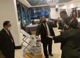 """KBRI Cairo (18 Agustus 2021) menggelar kegiatan Round Table Discussion bersama Dewan Pemuda Mesir dan Komite Ekonomi dan Pengembangan UMKM Mesir, dengan mengangkat tema """"Strengthening Economic-Trade Cooperation Between Indonesia and Egypt"""", yang berlangsung di kota Kairo."""
