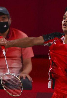 Anthony Sinisuka Ginting (Foto: REUTERS/Hamad I Mohamed)