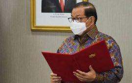 Seskab Pramono Anung Lantik 85 Pejabat di Lingkungan Sekretariat Kabinet