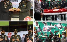 HUT TNI ke-76, Kapolres Kediri Kota Beri Kejutan Brigif 16/Wira Yudha