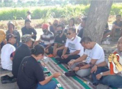 Tidak Bisa Berjualan, PKL dan Pengguna Jalan SLG Berniat Demo Bupati Kediri
