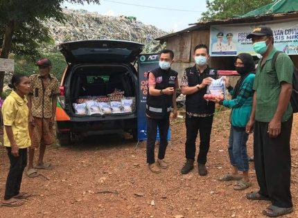 Sebanyak 64 Paket Bahan Pokok Disalurkan ACT Kepri ke Warga Punggur Batam
