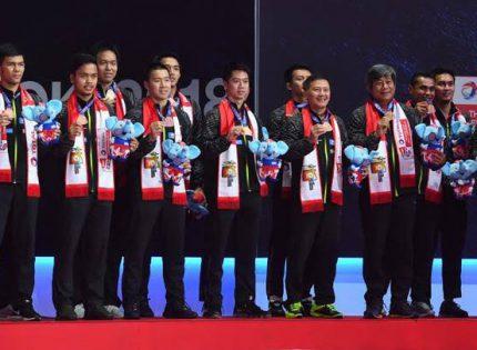 Berikut Daftar Juara Piala Thomas, Indonesia Mendominasi