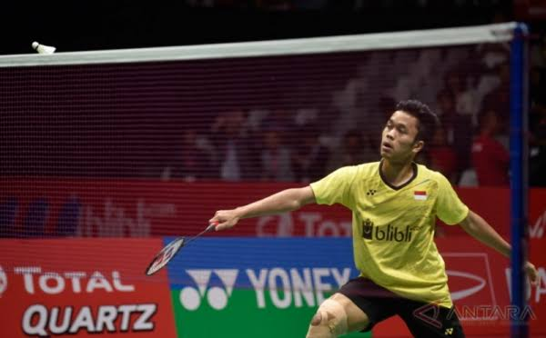 Piala Thomas: Anthony Ginting Kalah, Indonesia vs Thailand 0-1