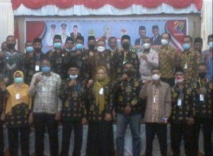Sekdakab Karimun Buka Rakerda PABDESI Periode 2021-2026